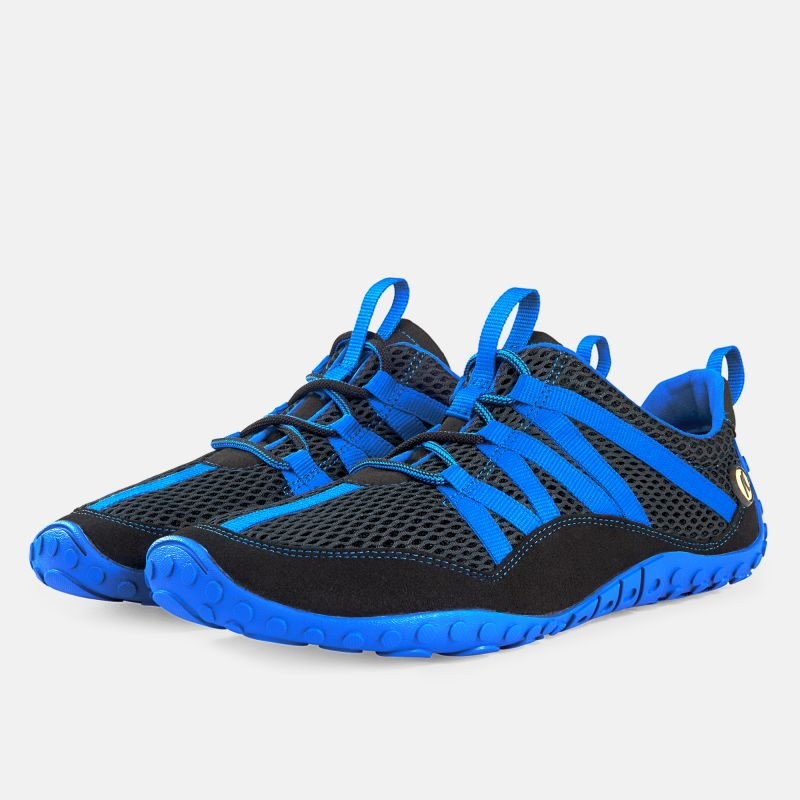 - schwarz/blau