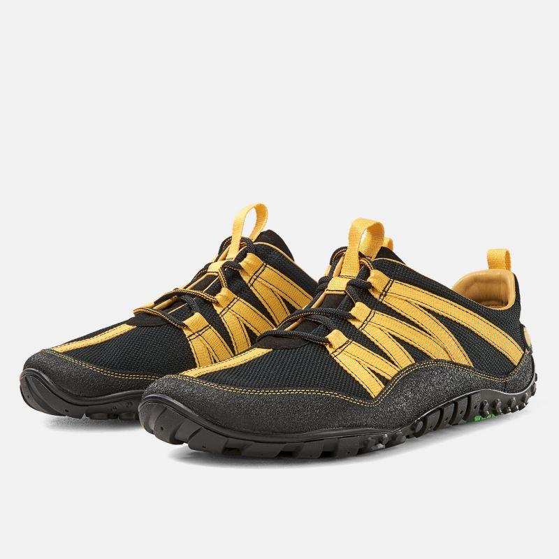 nimbleToes trail - schwarz/gelb